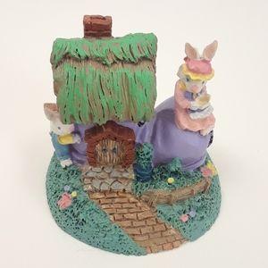 Easter Village decor